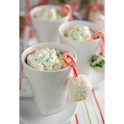 Snežne kepice za božično smrekico