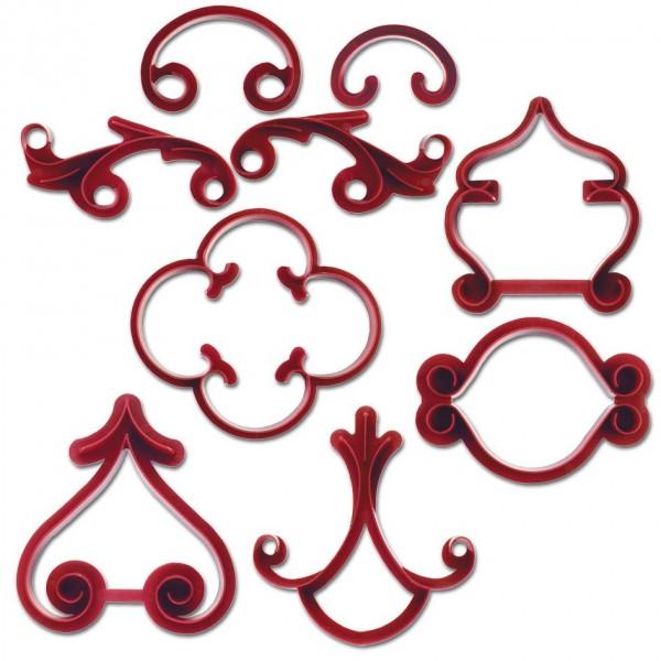 Set za dekoriranje arabeske 9-delni