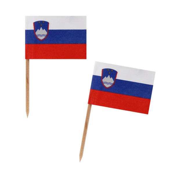 Nabodala - slovenske zastavice 500kom